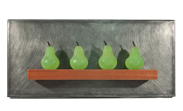 Jen Violette Vetri Seattle Show Crisp - Five Green Pears