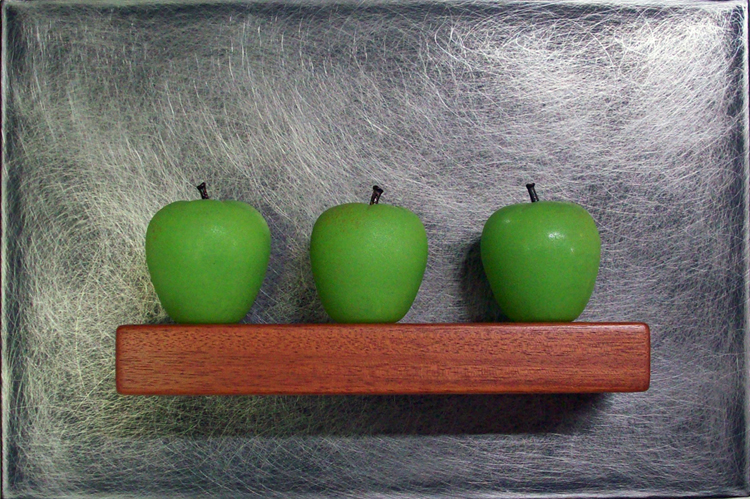Jen Violette Vetri Seattle show Crisp - Three Green Apples